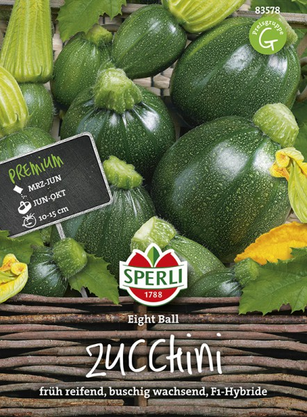SPERLI Zucchini 'Eight Ball' F1
