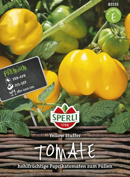 SPERLI Tomate (Paprika-Tomate) 'Yellow Stuffer'