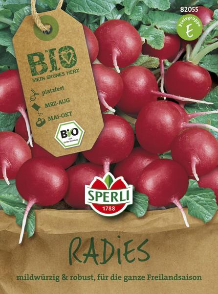 SPERLI Bio-Radieschen, rund Cherry Belle