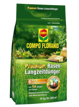 COMPO FLORANID® Perfektion Rasen-Langzeitdünger 10kg