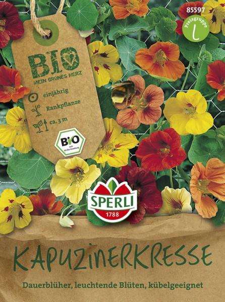 SPERLI Kapuzinerkresse - Bio-Saatgut
