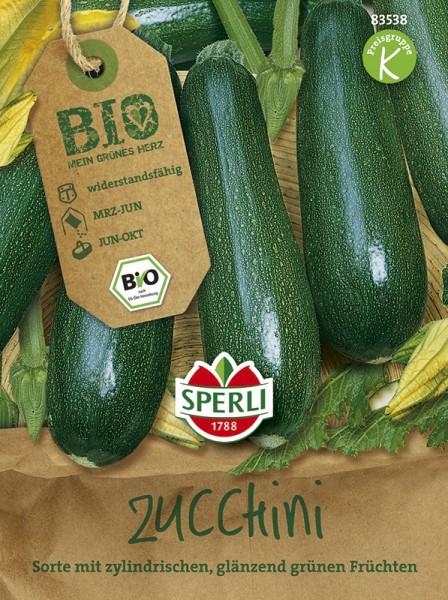 "SPERLI Bio-Zucchini "" Partenon"" grün"