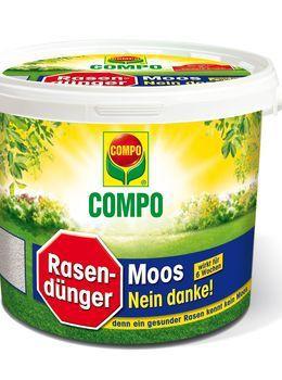 COMPO Rasendünger Moos-Nein danke! - 4 kg