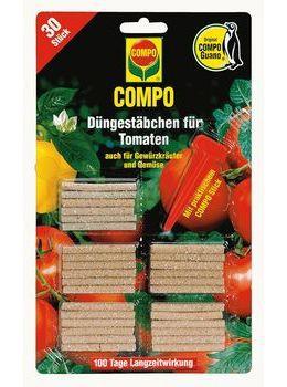 COMPO Düngestäbchen plus Guano für Tomaten - 30Stk