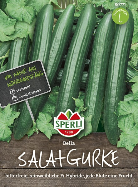 SPERLI Salatgurke 'Bella F1'