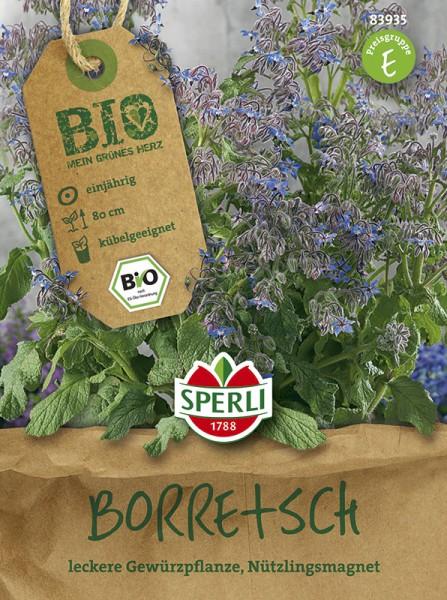 SPERLI Bio Borretsch ( Borago officinalis) einjährig