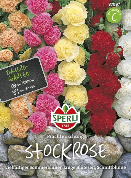SPERLI Stockrose 'Prachtmischung'