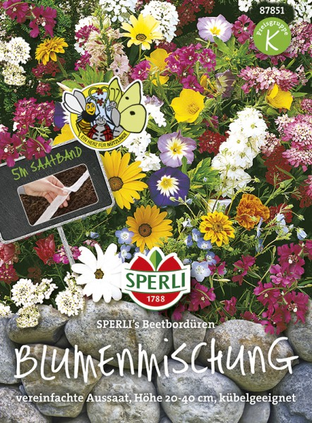 SPERLI Blumenmischung 'SPERLI's Beetbordüren'