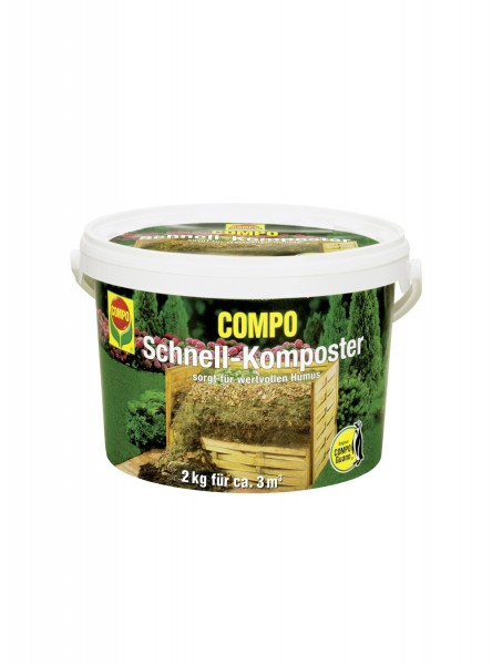 COMPO Schnell-Komposter plus Guano - 3kg