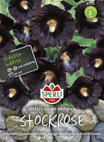 SPERLI Stockrose 'SPERLI's Dunkle Schönheit'