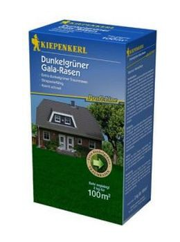 KIEPENKERL Profi-Line Dark Green- Dunkelgrüner Gala-Rasen - 2kg